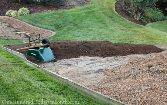 creating a new garden bed