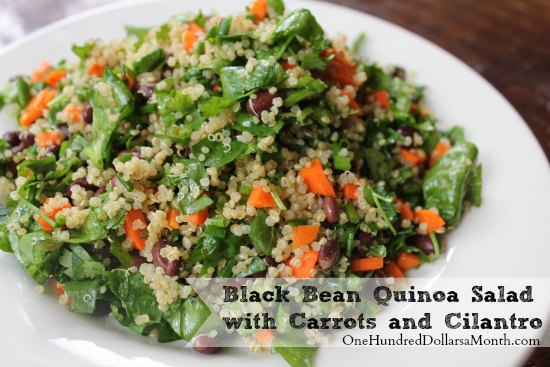 Blackened Green Bean And Quinoa Salad Recipe — Dishmaps