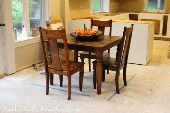 world market kitchen table