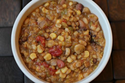 Easy-Crock-Pot-Recipes-13-Bean-Vegetarian-Soup2