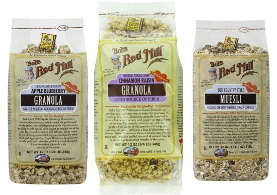 bob red mill granola