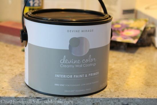 devine mirage grey paint target