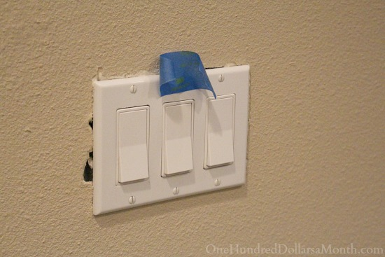 outlet coves with drywall
