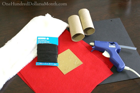 DIY Santa Binoculars supply list