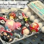 Upcycling Egg Cartons: Perfect Christmas Ornament Storage