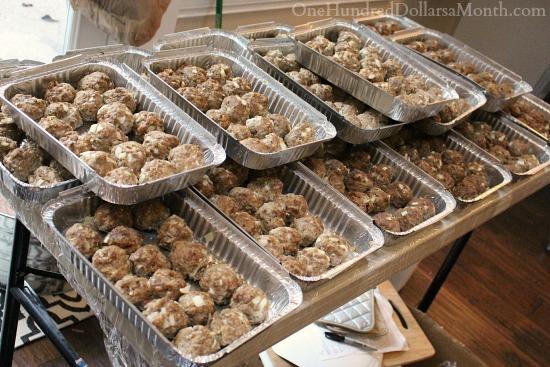 freezer meals meatballs