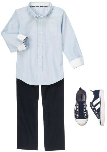 boys navy uniform