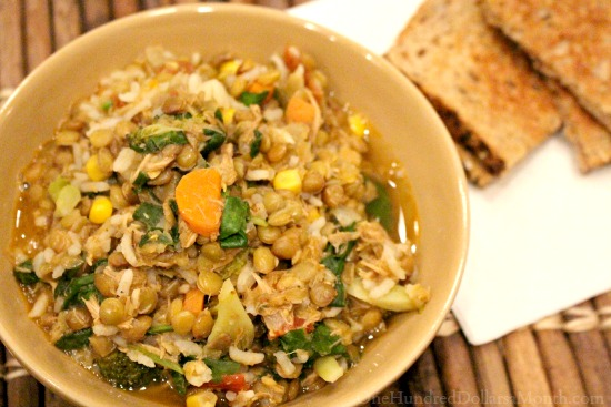chicken lentil stew