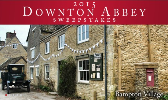 downton abbey sweepstakes