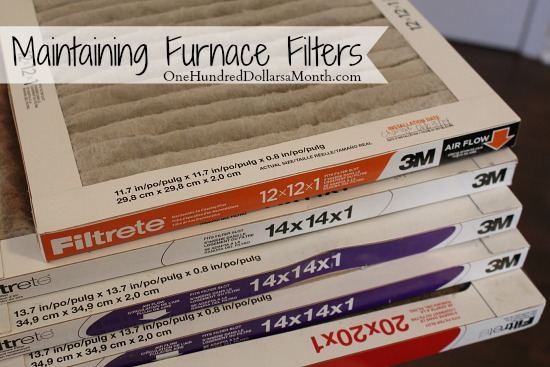 Maintaining Furnace Filters (1)