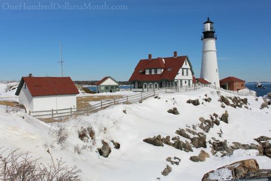 Portland Head Light in Cape Elizabeth, Maine