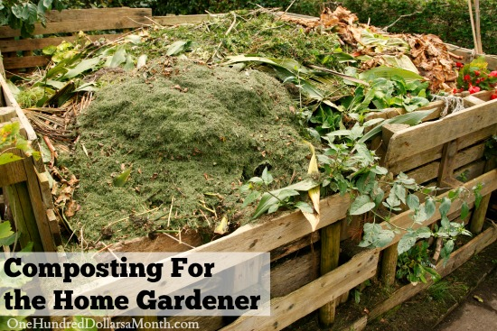 Composting For the Home Gardener