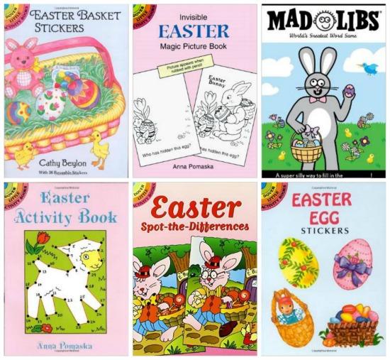 easter sticker books