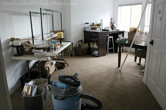 craft room before pictures