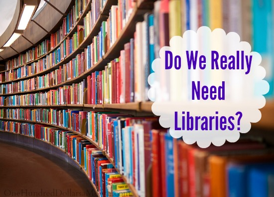 Do We Really Need Libraries