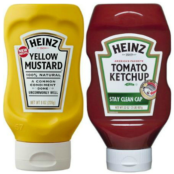 Heinz Tomato Ketchup and Yellow Mustard  coupons