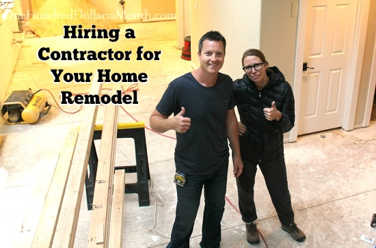 Hiring a contractor for your home remodel for Hiring a contractor