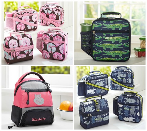 pottery barn kids lunch boxes