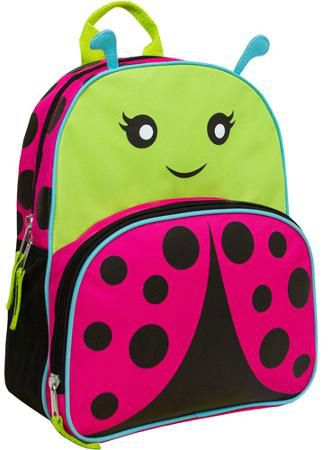 Animal Friends Ladybug Backpack