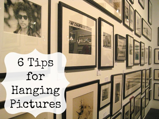 6 Tips for Hanging Pictures