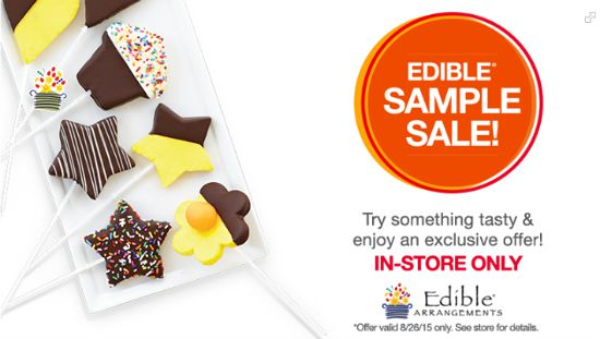edible arrangements free sample