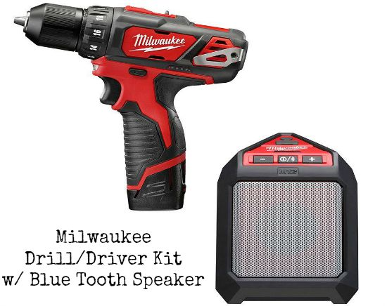 milwalkie drill blue tooth