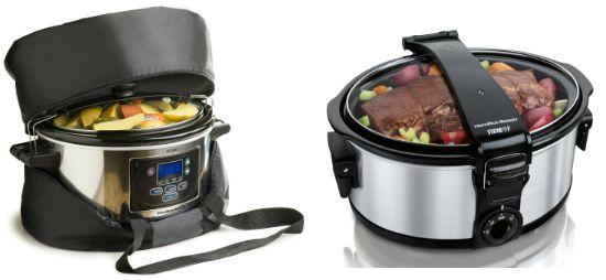 Hamilton Beach Stay or Go 6-Quart Portable Slow Cooker