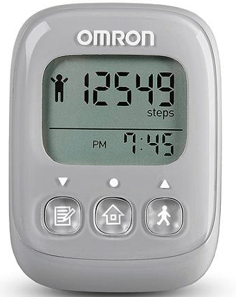ormon step counter