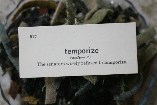 temporize