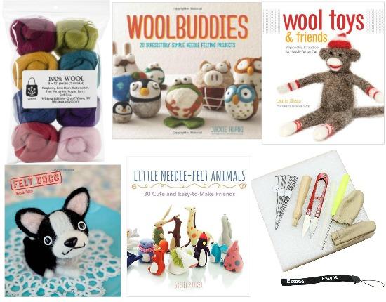 wool felt kit woolbuddies