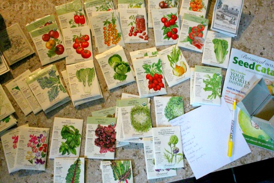 botanical interests seed packets seed packets