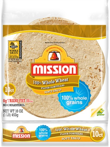 Mission Whole Wheat Tortillas printable coupon