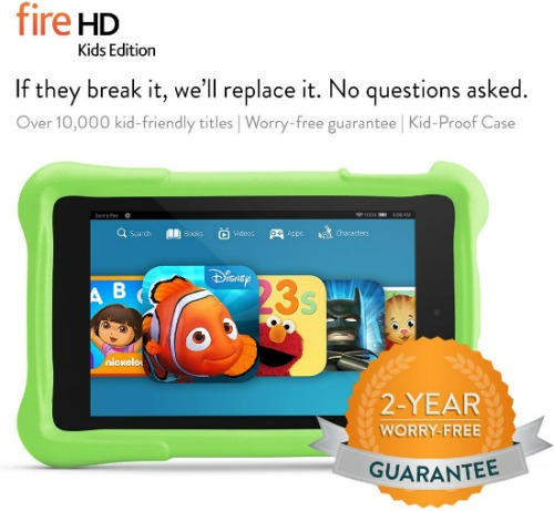 kindle fire hd for kids