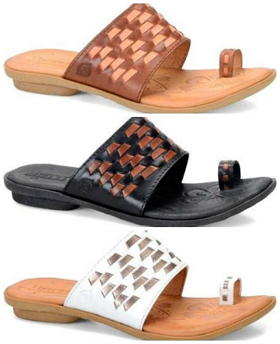 Born Salla Woven Toe-Loop Sandals