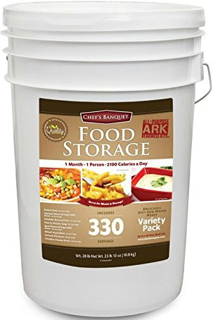 Chef S Banquet All Purpose Readiness Kit  Month Food Storage Supply