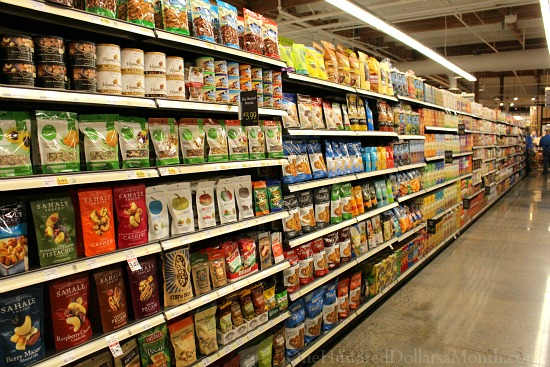 main vine grocery store aisles