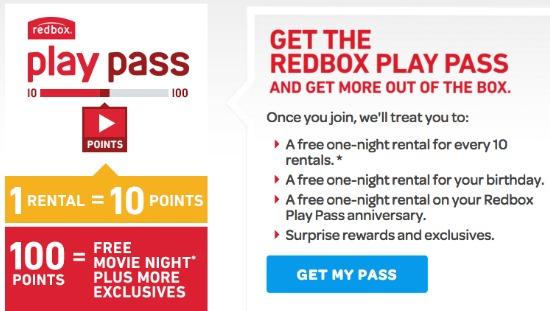 red box play pass