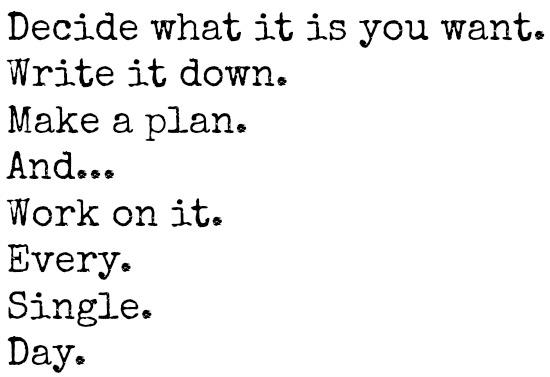 work on it
