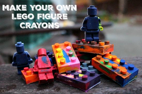 Lego Figure Crayons