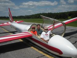 glider ride special at Vermont B&B