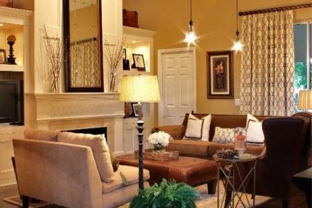 warm color schemes living room 22 1 kindesign