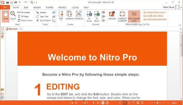 nuance power pdf standard trial