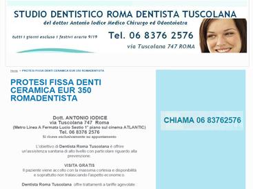 Creare sito web per dentisti