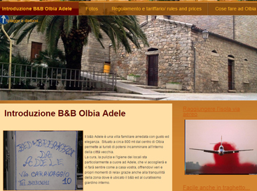 sito per bed and breakfast