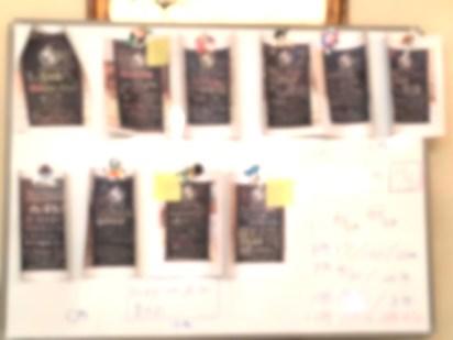 クローバーさんの販促看板のフィードバック