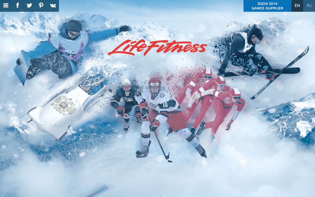 Where are the 2014 winter olympics? life fitness russia Olympics