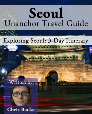 Seoul 3 day itinerary cover