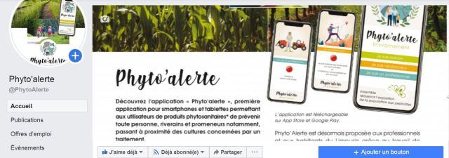 Capture FB PhytoAlerte