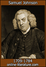 recent forum posts on samuel johnson