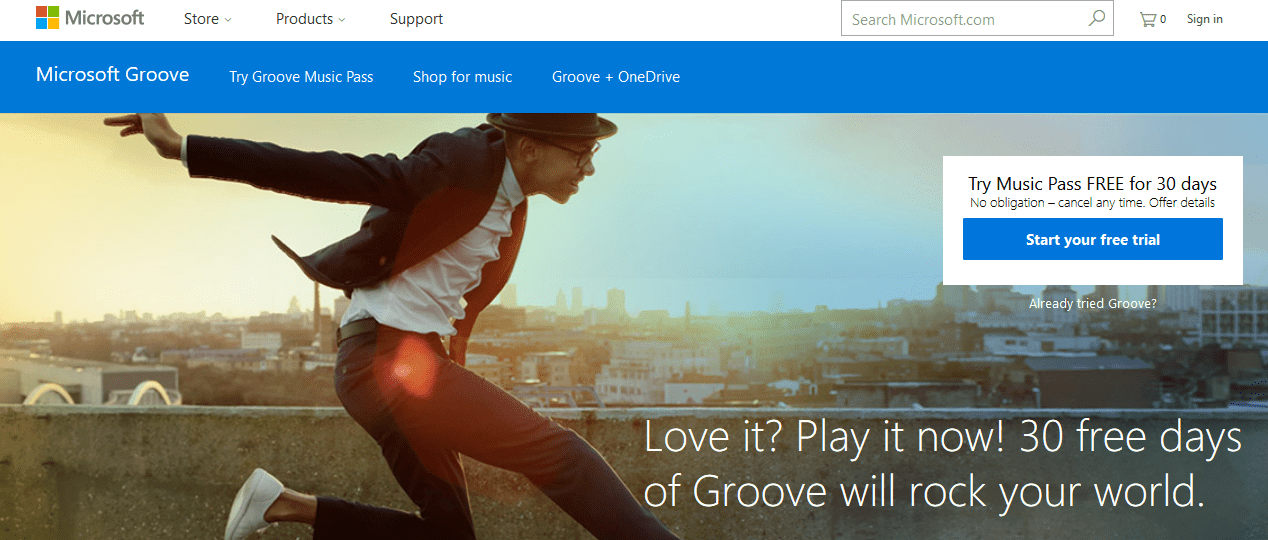 Groove Music download app